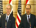 President Bush in a Press Conference with Iraqi Prime Minister
