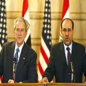 President-Bush-in-a-Press-Conference-with-Iraqi-Prime-Minister